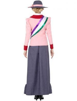 Victorian Suffragette Women's Fancy Dress Costume