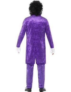 1980's Purple Musician Men's Prince Costume