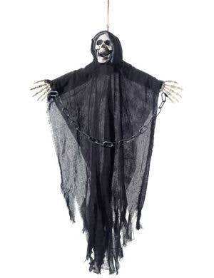 Hanging Reaper Skeleton Halloween Decoration