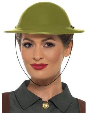 WW2 Green Tommy Hat Adult's Costume Accessory