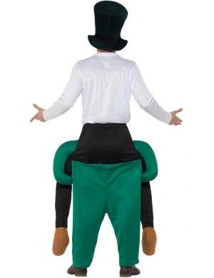 Piggyback Paddy's Leprechaun Adult's Fancy Dress Costume
