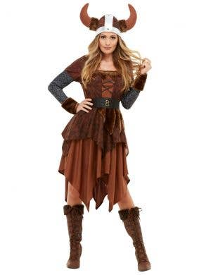 Viking Barbarian Queen Women's Costume