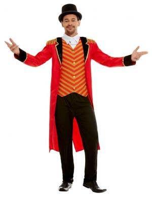 Circus Ringmaster Deluxe Men's Costume