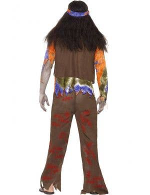70's Bloodstained Hippie Men's Halloween Zombie Costume
