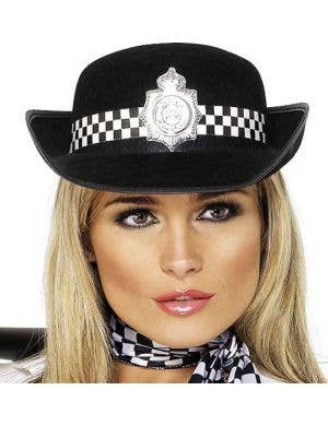 Police Women's Bowler Hat