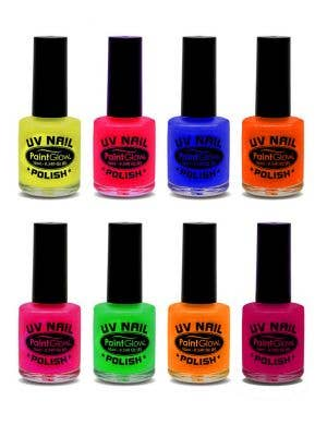 Special Effects UV Reactive Nail Polish - Neon Red
