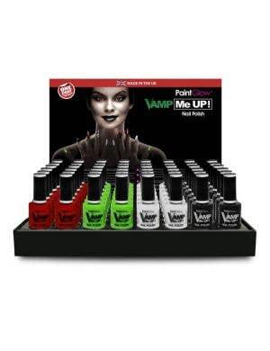 Vamp Me Up Halloween Nail Polish - Red
