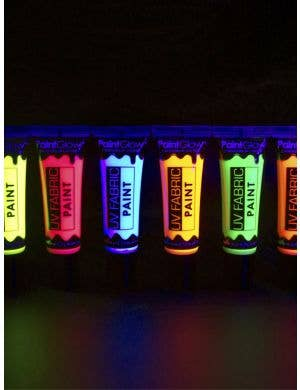 UV Reactive Special Effects Fabric Paint - Neon Green