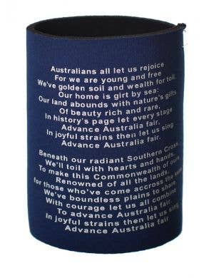 Australia Day Aussie Flag Stubbie Holder