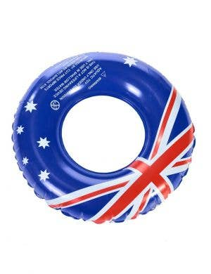 Aussie Flag Inflatable Swim Ring