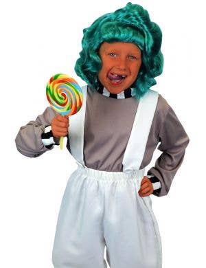Little Oompa Loompa Boys Book Week Costume