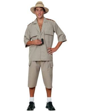 African Safari Suit Men's Fancy Dress Costume