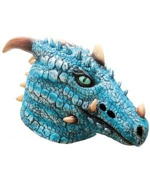 Ice Dragon Adult's Latex Mask Costume Accessory