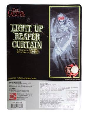 Light and Sounds Grim Reaper Door Curtain