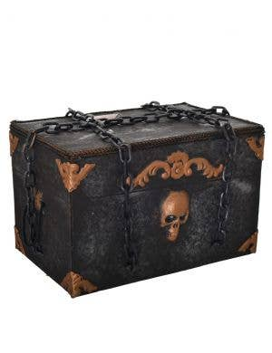 Animated Moving and Light Up Treasure Chest Halloween Decoration