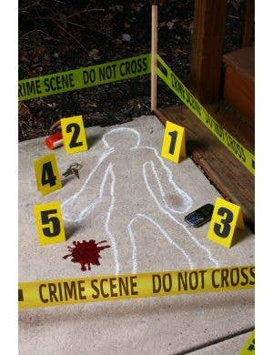 Crime Scene Investigation Kit Halloween Decoration