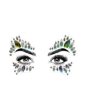 Unicorn Diamond Daze Stick On Festival Face Jewels