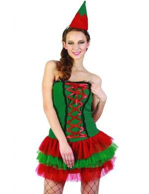 Merry Little Elf Sexy Women's Christmas Costume