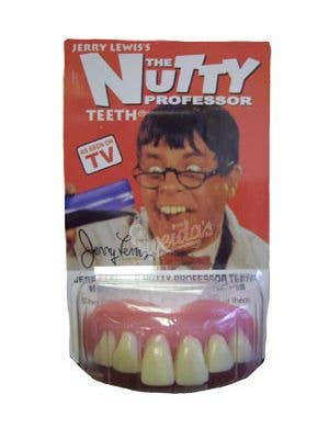 Jerry Lewis The Nutty Professor Costume Teeth