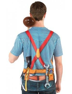 Faux Real Plumber with Tools Costume Top