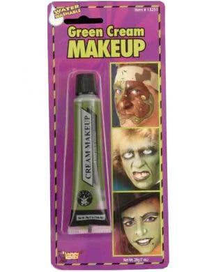Cream Make Up Green Face Paint
