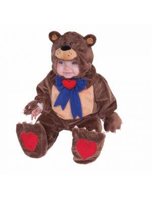 Cuddly Brown Teddy Bear Infants Fancy Dress Costume