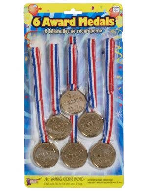 Award Gold Medal Winner 6 Pack Costume Accessory Set