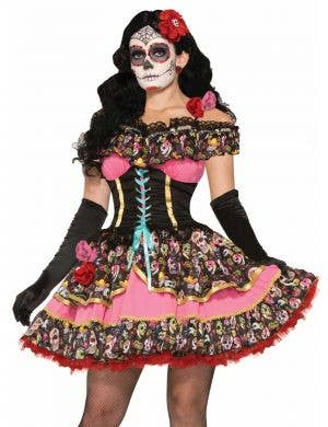 Day of the Dead Senorita Sexy Women's Costume