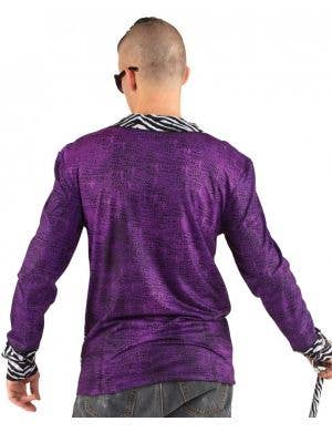 Faux Real Big Pimpin Purple Costume Top