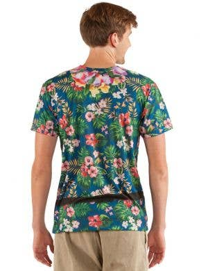 Faux Real Hawaiian Tourist Costume Top