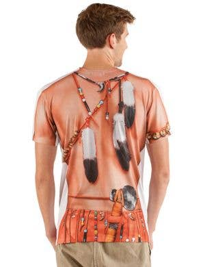 Faux Real Big Chief Indian Costume Top
