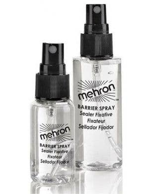 Mehron Clear Liquid Barrier Setting Spray for Makeup