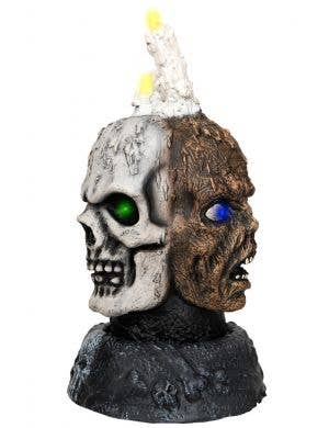 Faces of Death Light Up Turning Candelabra Halloween Decoration