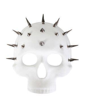 Spiked Spectre Skull White Halloween Costume Mask