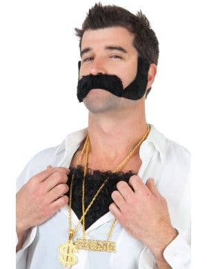 Gangsta Novelty Gold Costume Necklace