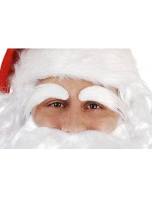 Bushy White Santa Claus Eyebrows