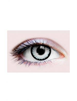 Underworld Light Grey Zombie Halloween 90 Day Wear Contact Lenses