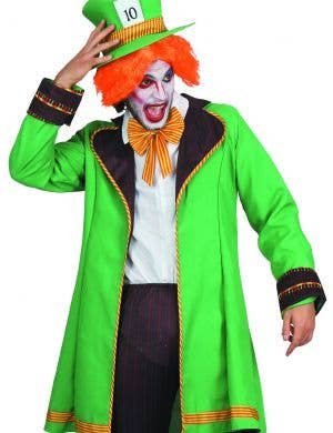 Wonderland Mad Hatter Men's Fancy Dress Costume