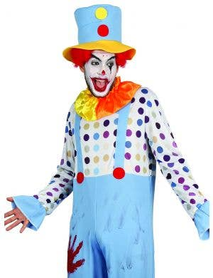 Creepy Bloody Clown Men's Halloween Costume