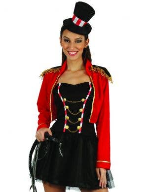Animal Tamer Women's Ringmaster Fancy Dress Costume
