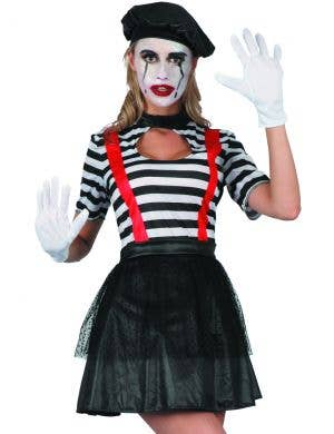 Madam Marcel Women's Mime Costume