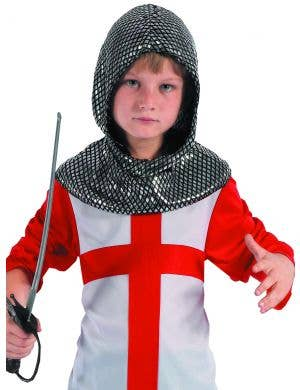 Medieval Boy's Knight Fancy Dress Costume