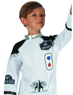 Astronaut Boy's White Book Week Costume