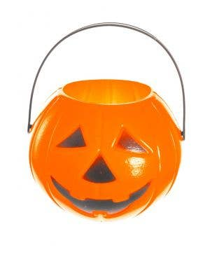 Mini Pumpkin Jack O'Lantern Halloween Bucket