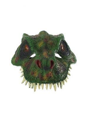 Tyrannosaurus Rex Green Dinosaur Costume Mask