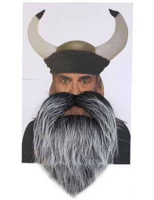 Viking Beard and Moustache Costume Accessory