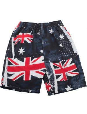 Australia Day Men's Aussie Flag Board Shorts