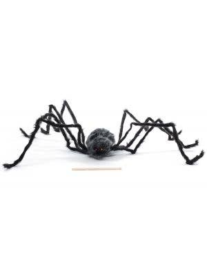 Giant Black and Grey Spider Halloween Decoration