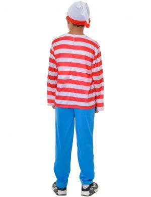 Where's Wally Red White and Blue Boys Dress Up Costume