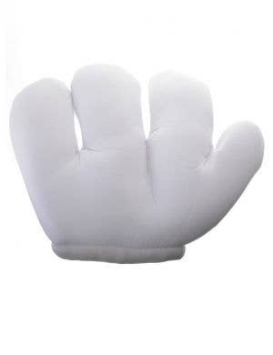 Jumbo White Padded Adult's Costume Accessory Gloves